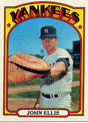 1972 Topps Baseball Cards      047      John Ellis